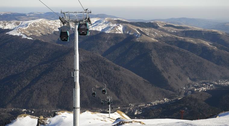 Romania are telegondola la 2000 de metri