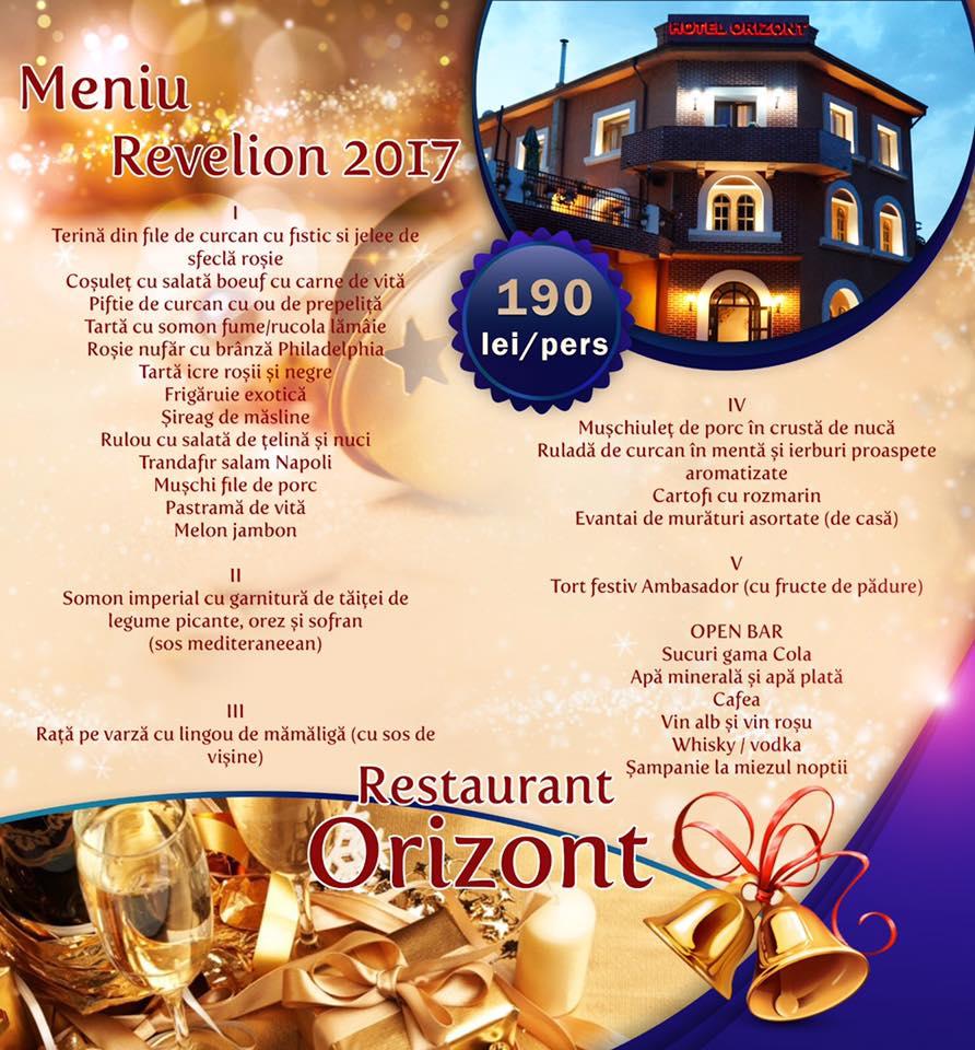 Revelion 2017 la Restaurant Orizont – Slănic Prahova
