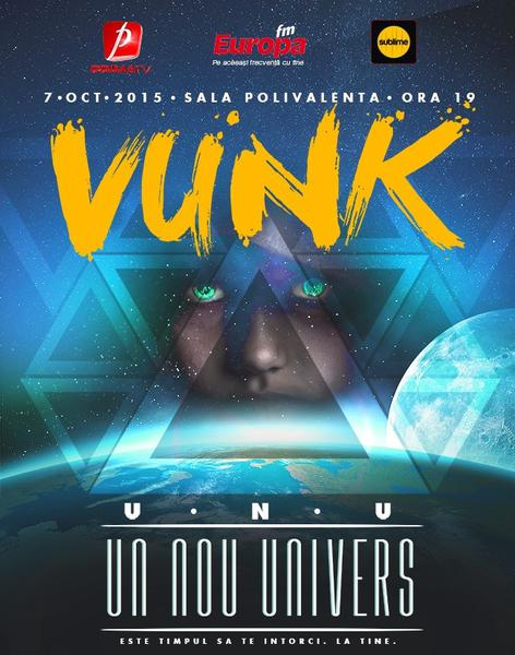 """Filmare 360 de grade la concertul Vunk """"Un nou univers"""""""