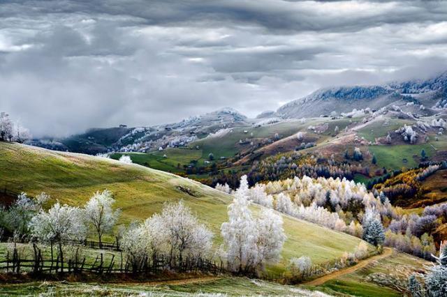 Peisaj din România, premiat de National Geographic
