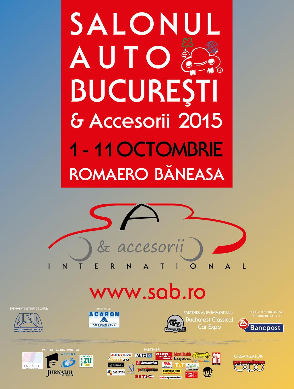 Salonul Auto Bucuresti 1-11 Octombrie 2015 – Romaero Baneasa