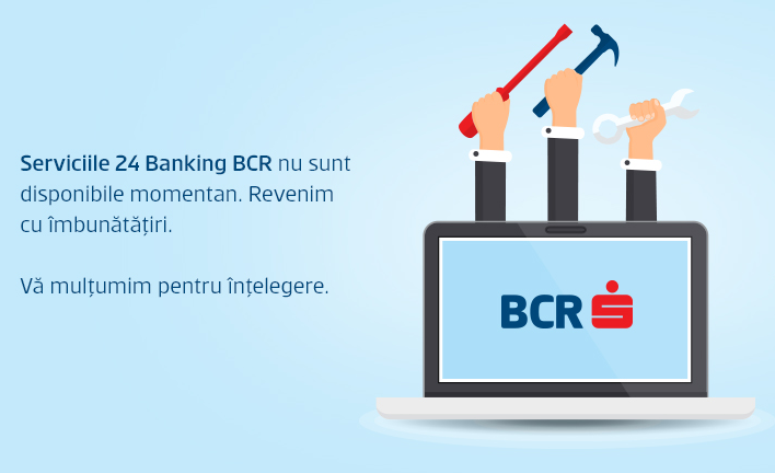 BCR opreşte temporar serviciul de Internet Banking – 20 septembrie 2015