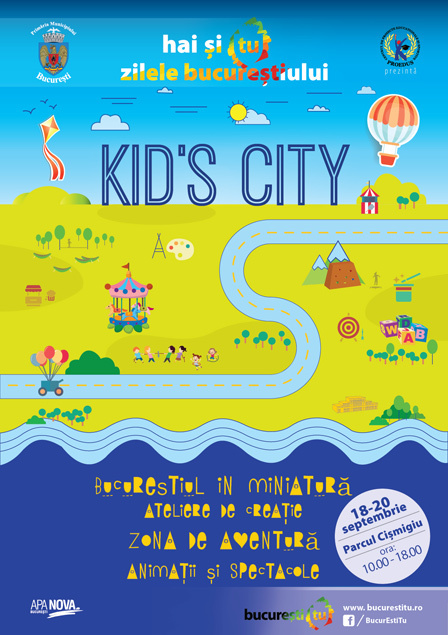 Parcul Cişmigiu – Kid's City