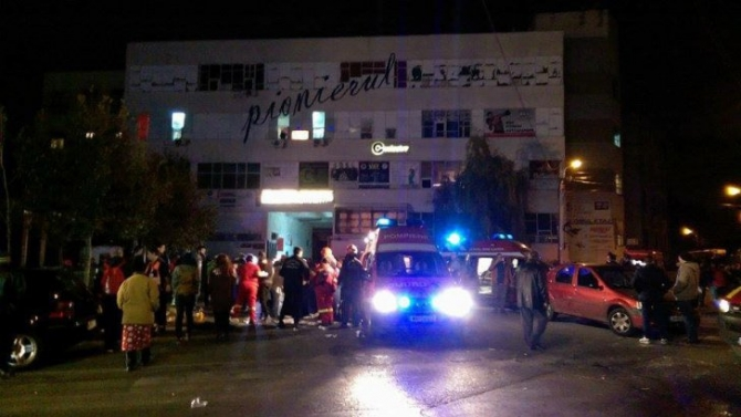 Incendiu în clubul Colectiv din București