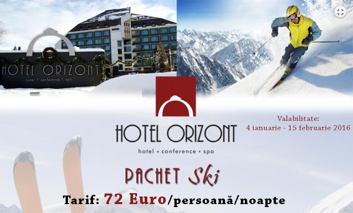 Pachet Ski – oferta speciala Hotel Orizont, Predeal