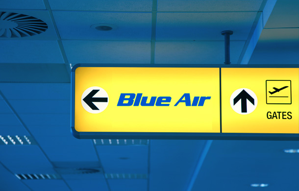 Zborurile Blue Air din Romania catre Bruxelles din 26-28 martie, redirectionate catre Maastricht