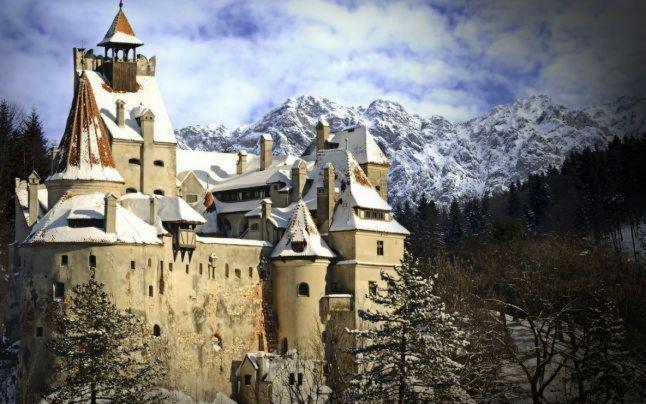 Castelul Bran în Top 3 cele mai frumose castele din Europa