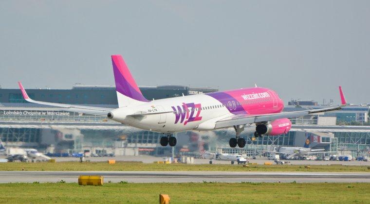 Wizz Air introduce noi rute catre Atena de la 39 lei