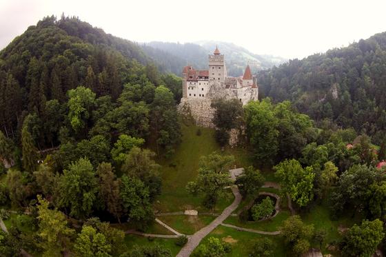 Tunelul Timpului Castel Bran