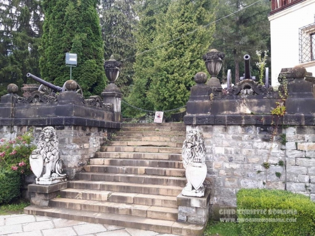 Trepte Castel Peles
