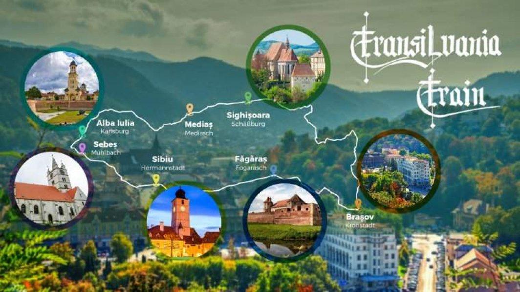 Transilvania Train – prima calatorie all inclusive cu trenul prin Romania