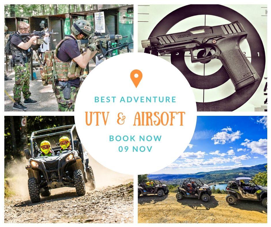 UTV Trip & Airsoft Guns – Distractie si Aventura