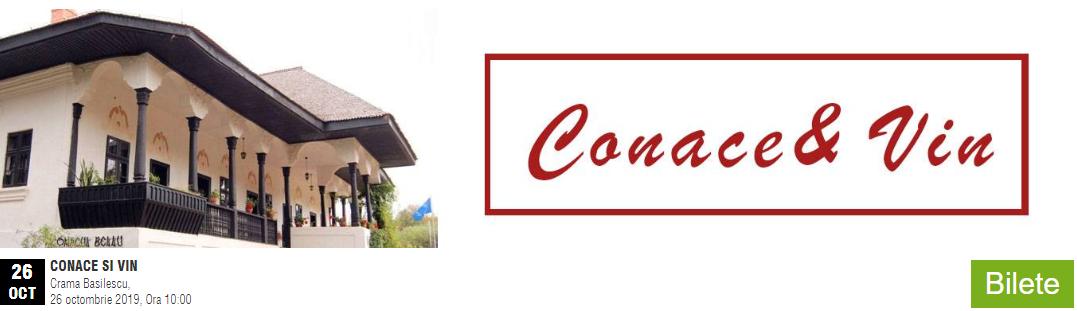 Conace & Vin – Calatorie cu degustare de vinuri