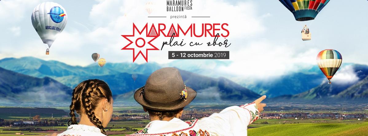 "Maramureș Balloon Fiesta, ediția 6 - ""Maramureș, plai cu zbor"", 5 - 12 octombrie 2019"