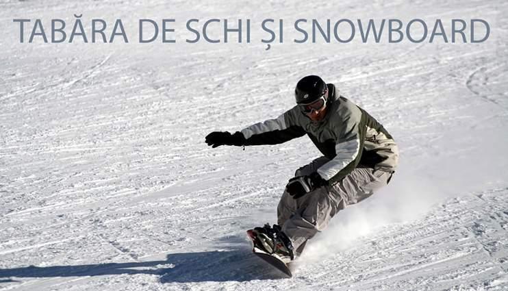 Tabără de schi și snowboard – Poiana Brașov